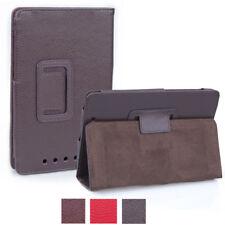 Funda para Google Nexus 7 bolso cover case funda protectora, estuche, protección bandeja cenizas marrón