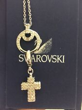 swarovski cross necklace