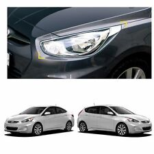 Head Light Lamp Front Cover Molding for Hyundai Accent 2012-2017