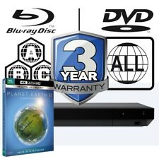 Sony ubp-x700 All Zone multi région 4k Ultra HD Blu-ray Player & Planet Earth 2