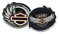 Harley-Davidson 115th Anniversary Collectors Medallion & Leather Box Set 8008352