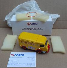CORGI Heritage-colore di prova-PINDER Circus RENAULT-pre-produzione CAMPIONE
