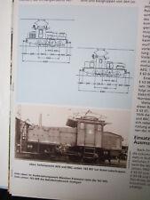 Bahn Lokaufrisse E & Diesel DRG 72 E 63 Verschiebelok der DR, 1935