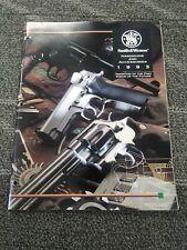 Vintage 1993 Smith & Wesson Catalog Brochure Handguns Accessories Firearms