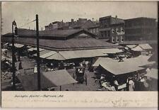 Lexington Market Scene Baltimore Maryland 1907 Undivided Back Postcard
