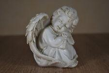Engel Sitzend Schlafend Grab Dekoration Garten Deko Skulptur Figur