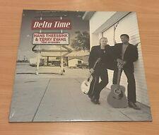 "LP VINYL 12"" 180 GR HANS THEESSINK & TERRY EVANS DELTA TIME FEAT RY COODER"