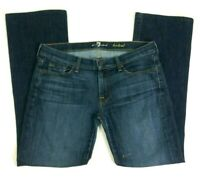 7 Seven for All Mankind Jeans Womens Sz 31x31 Dark Wash Bootcut