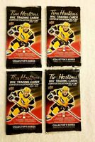 2020-21 TIM HORTONS UD 4 SEALED HOCKEY CARD PACKS LOT Mcdavid Matthews Crosby ?