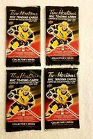 2020-21 TIM HORTONS UD 4 SEALED HOCKEY CARD PACKS LOT Mcdavid Matthews Crosby ?