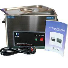 150 W 3.8 L Acero Inoxidable Limpiador ultrasónico baño Teléfono Tablet Motherboard CE