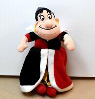 "Disney Queen of Hearts from Alice in Wonderland 8"" Plush Stuffed Figure"