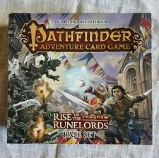 PATHFINDER ADVENTURE Card Game RISE OF THE RUNELORDS BASE SET and Expansion 1