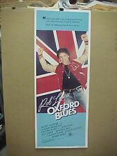 OXFORD BLUES, nr mint orig rolled 14x36 / movie poster [Rob Lowe, Ally Sheedy]