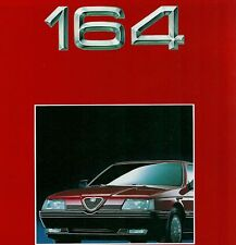 Brochure ALFA 164 TSpark /3.0V6 /TD /Turbo/Quadrifoglio