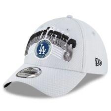 2020 Los Angeles Dodgers LA New Era 39THIRTY World Series Locker Room Cap Hat