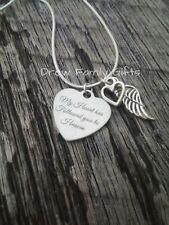 My Heart Has Followed You To Heaven Bereavement Memorial Keepsake Necklace
