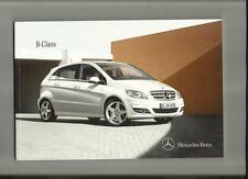 MERCEDES Benz b classe b160, b180, b180cdi, b200cdi + blue Efficiency brochure 2010/11