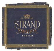Judaica Israel Old Cigarettes Pack Wrapper Label Dubek Strand Virginia Special
