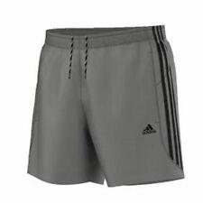 Adidas Essential 3 Stripe Chelsea Mens Shorts Original Climalite Gym S M L XL XX