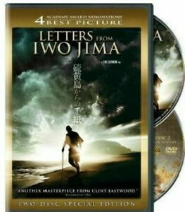 Letters from Iwo Jima DVD (2 DISC SPECIAL) Clint Eastwood Movie - REGION 1 USA
