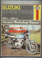 Suzuki GS400 GS400B Twins (1976-1978) Haynes Work-Shop Manual GS 400 X B C CH28