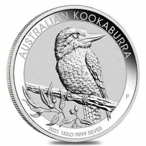 2021 Australian Kookaburra1 Kilo Coin