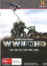 WWII LOST FILMS - WWII IN HD - THE BATTLE OF IWO JIMA - R4 DVD - FREE LOCAL POST