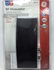 GE RF Modulator # 87631 Audio Video Signal Converter Game Player DVD