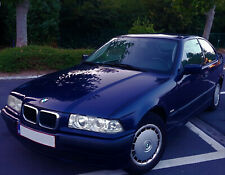 voiture BMW 316i COMPACT(E36) 77kw/105 ch. bleu montreal