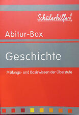 """Abitur-Box """"Geschichte"""" - Prüfungs- und Basiswissen der Oberstufe"""