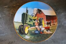 Little Farmlands Danbury Mint Collector plate Clean and Shiny Donald Zolan H589