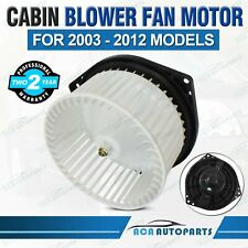 FOR HOLDEN RODEO RA COLORADO RC DMAX 03-12 AIRCONDITION CABIN BLOWER FAN MOTOR