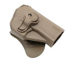 Amomax Airsoft Hip Holster USP Full Size & Compact FDE Quick Release TAN USPG2F
