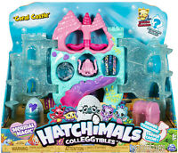Hatchimals CollEGGtibles, Coral Castle Fold Open Playset with Exclusive Mermal