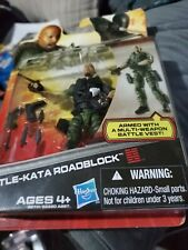 G I JOE RETALIATION, Battle-Kata ROADBLOCK, RETRO, 3.75?,