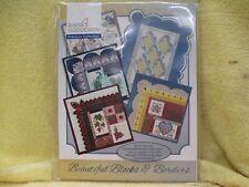 Anita Goodesign Beautiful Blocks and Borders Premium Collection, w/BOOK and CD