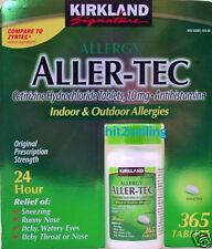 Aller - Tec 24 Hour Allergy Relief Sneezing, Runny Nose, Kirkland Signature 2019