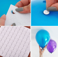100 Points Balloon Attachment Glue Dot Attach Balloons To Ceiling Or Wall