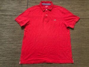 Vineyard Vines Mens XL Classic American Flag Collar Polo Shirt 1K1050