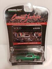 Rare Greenlight Barrett Jackson 1970 Chevrolet Camaro Z/28 Green Machine Chase