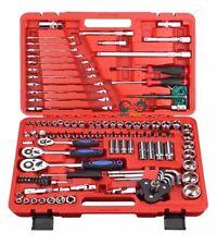 "121Pc Socket Ratchet Wrench Set External Torx Screwdriver Bits  1/4"" 3/8"" 1/2"""