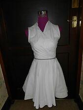 Beautiful All Saints Caden Dress Chalk Size 8 Excellent Condition