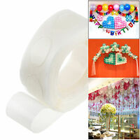 100 Dots Super Sticky Double Sided Rubber Adhesive Glue For Balloon Decor