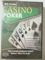 68652 - Casino Poker [NEW / SEALED] - PC () Windows XP UWB071