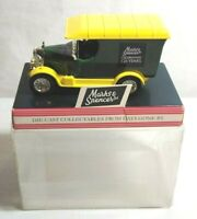 MARKS & SPENCER DIECAST COLLECTABLES - BULLNOSE MORRIS - M & S 125TH - BOXED