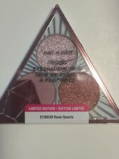 Wet N Wild Megaglo Eye Shadow Trio-Rose Quartz #1110039 Ld Ed., 0.12 oz/3.5g.