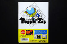 TOPPLE ZIP Famicom Disk System JAPAN Good Condition !
