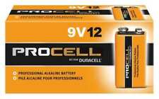 Duracell Procell Alkaline 9V Batteries, 12 Pack DURACELL PC1604BKD