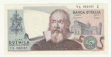 Italia 2000 lire 1983 FDS  UNC     pick 103  azzurrino (manipolato) RIF 4206